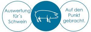Logo Auswertungsservice fürs Schwein